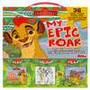 Disney Junior the Lion Guard My Epic Roar Storybook and 2-in-1 Jigsaw Puzzle