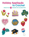 Holiday appliques to crochet