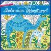Bohemian Adventures Coloring Poster Book