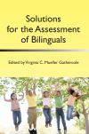 Jacket Image For Solutions for the Assessment of Bilinguals