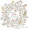 Words of Love and Friendship wall calendar 2017 (Art calendar)
