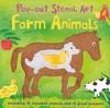 Pop-out Stencil Art: Farm Animals