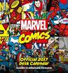 Marvel Comics Official 2017 Desk Easel Calendar