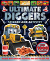 Jcb Ultimate Diggers Puzzle Activity Book (fs)
