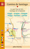 Camino de Santiago Maps = Mapas = Mappe = Mapy = Karten = Cartes