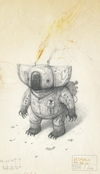 Shaun Tan Notebook - Paraffin Oil Koala