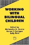 Jacket Image For Working with Bilingual Children