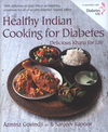 Jacket image for Healthy Indian Cooking for Diabetes by Azmina Govindji (author)
