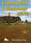 Lugnaquilla & Glendalough: Detailed Map