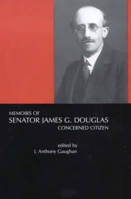 Memoirs of Senator James G.Douglas (1887-1954) Jacket Image