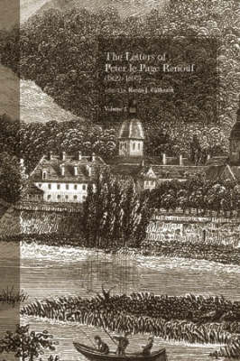 The Letters of Peter le Page Renouf (1822-97) v. 2 Besancon (1846-1854) Jacket Image