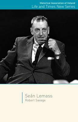 Sean Lemass (Life & Times New Series) Jacket Image