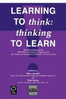 Jacket image for Learning to Think