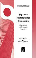 Jacket image for Japanese Multinational Companies