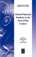 Jacket image for Global Financial Markets at the Turn of the Century