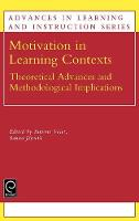 Jacket image for Motivation in Learning Contexts