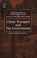 Jacket image for Urban Transport and the Environment