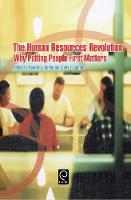 Jacket image for The Human Resources Revolution