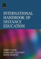 Jacket image for International Handbook of Distance Education