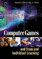 Jacket image for Computer Games and Team and Individual Learning