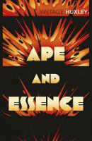 Jacket image for Ape and Essence