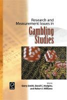 Jacket image for Research and Measurement Issues in Gambling Studies