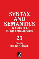 Jacket image for The Syntax of the Modern Celtic Languages