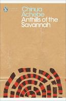 Jacket image for Anthills of the Savannah