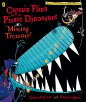 Jacket image for Captain Flinn and the Pirate Dinosaurs: Missing Treasure!