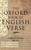 Jacket image for The Oxford Book of English Verse