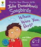 Jacket image for Oxford Reading Tree Songbirds: Where Were You Bert and Other Stories