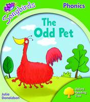Jacket image for Oxford Reading Tree: Stage 2: Songbirds: the Odd Pet