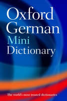 Jacket image for Oxford German Mini Dictionary