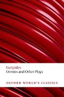 Jacket image for Orestes and Other Plays