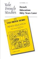 """Yale French Studies, Number 113"" by Ralph Albanese"