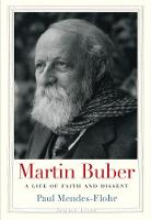 """""""Martin Buber"""" by Paul Mendes-Flohr"""
