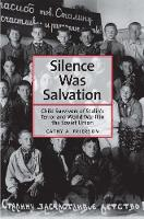 """""""Silence Was Salvation"""" by Cathy A. Frierson"""