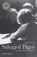"""""""Salvaged Pages"""" by Alexandra Zapruder"""