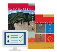 """Encounters Student Book 1 Print and Digital Bundle"" by Cynthia Y.  Ning"