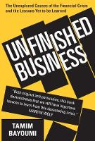 """""""Unfinished Business"""" by Tamim Bayoumi"""