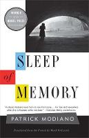 """Sleep of Memory"" by Patrick Modiano"