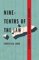 """Nine-Tenths of the Law"" by Christian Lund"