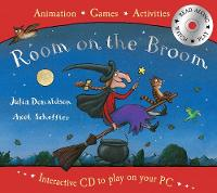 Jacket image for Room on the Broom Book and Interactive CD