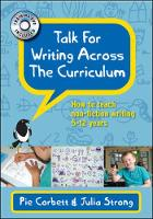 Jacket image for Talk for Writing Across the Curriculum