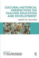 Jacket image for Cultural-historical Perspectives on Teacher Education and Development