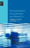 Jacket image for Transparency, Governance and Markets