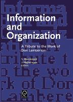 Jacket image for Information and Organization