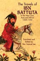 Jacket image for The Travels of Ibn Battuta