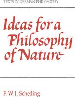 Jacket image for Ideas for a Philosophy of Nature