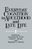 Jacket image for Everyday Cognition in Adulthood and Late Life